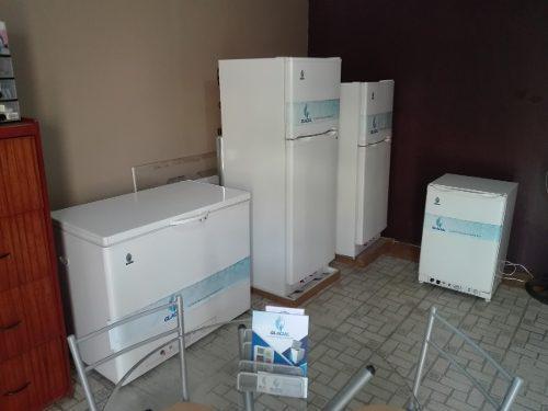 Congeladoras y refrigeradoras a gas propano/gn/duales ac-dc