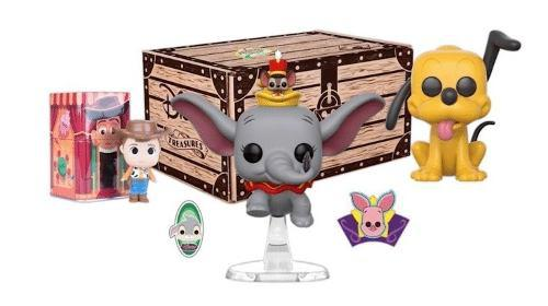 Disney box collector funko pop