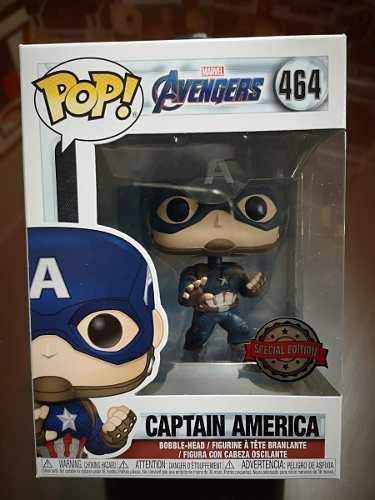 Funko pop! avengers end game - captain america 464 original