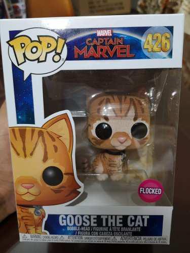 Funko pop! goose the cat flocked nro 426 original