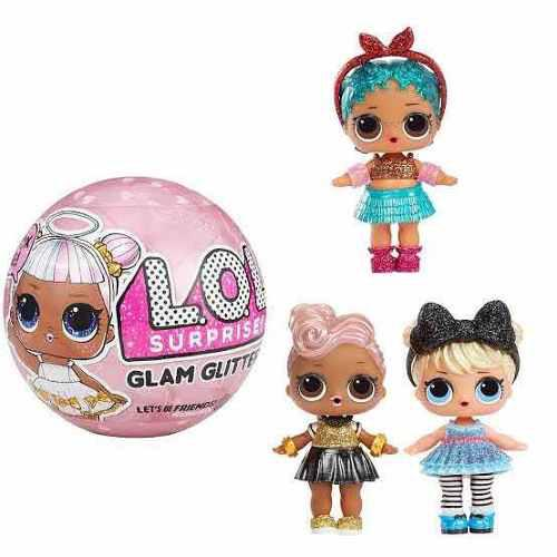 Lol muñecas glam glitter