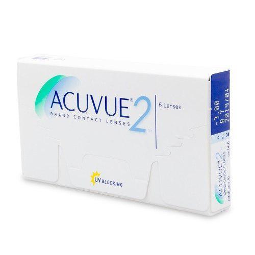 603bbf4bb1 Lentes de contacto acuvue 2 miopia caja 3 pares promocion