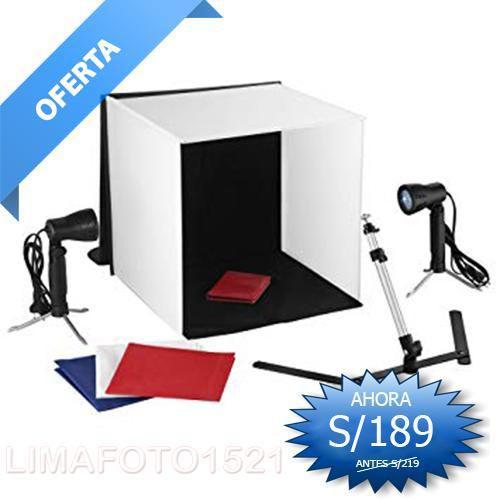 Mini estudio de fotografia profesional 40x40 profesional