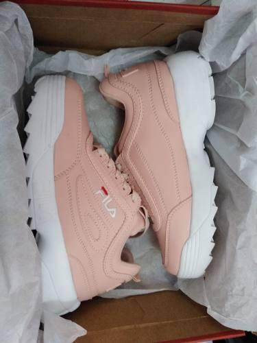 Zapatillas fila de mujer