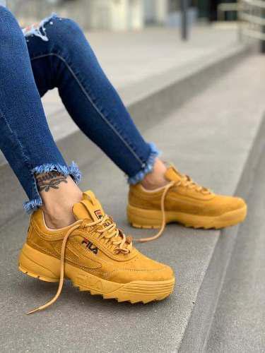 Zapatillas fila disruptor de mujer 2019