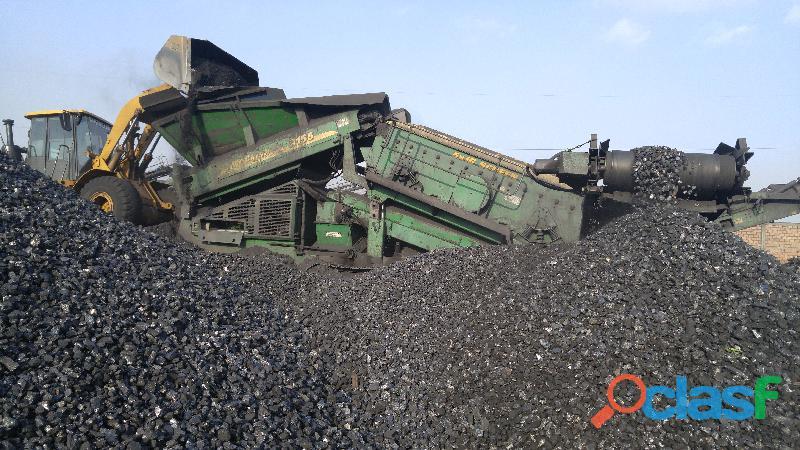 Carbón mineral y/0 de piedra antracita