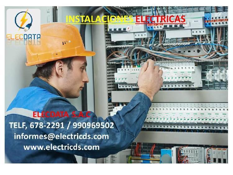 Tecnicos electricista,pozos a tierra,megado,cableado