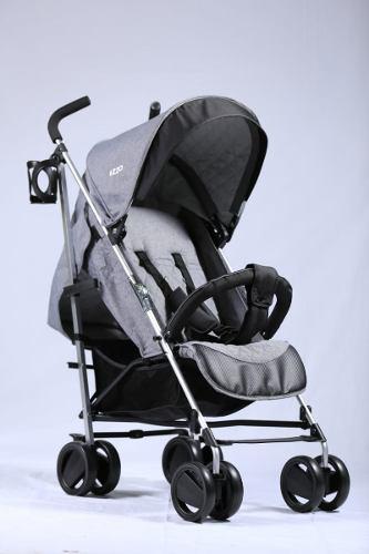 Coche bastón reclinable para bebe niña y niño aluminio