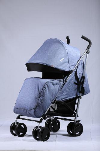 Coche baston reclinable bebe aluminio ezzo babygo nuevos