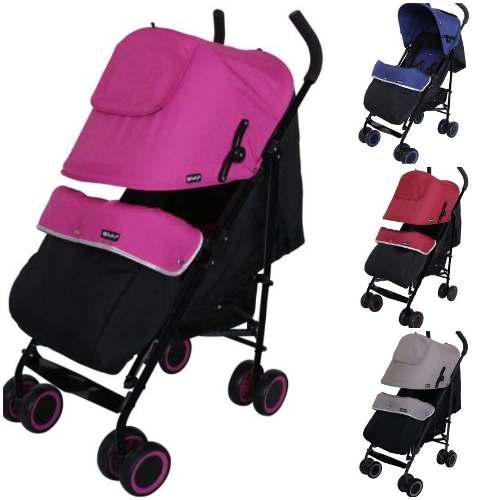 Coche baston reclinable travis ebaby 2019 4 colores nuevo
