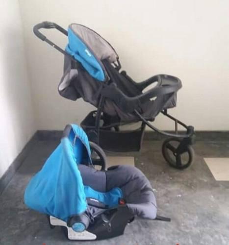 Coche de bebe infanti-travel system- p60 tizzy - oferta