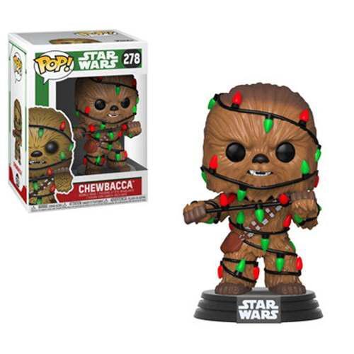 Funko pop holiday chewbacca star wars