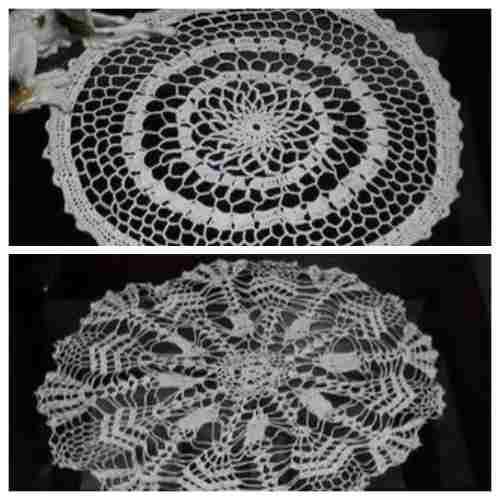 Hecho a mano - tejido a crochet - tapetes