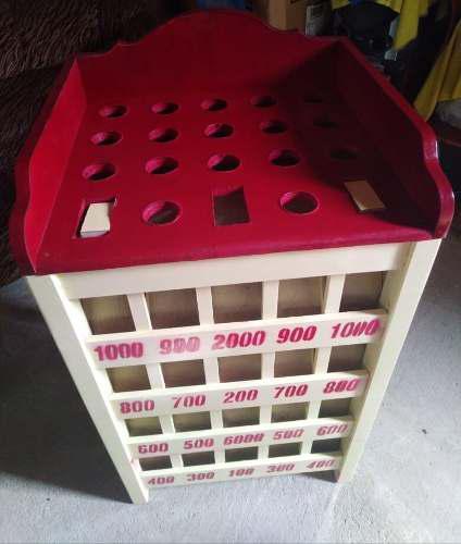 Juego de sapo madera con 12 fichas a 499 soles envío a