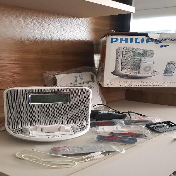 Parlante philips aj300d radio base dock