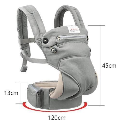 Porta bebé ergonómico 360 canguro mochila portabebé