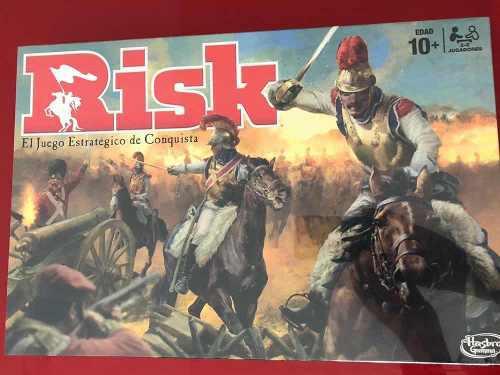 Risk hasbro original nuevo y sellado