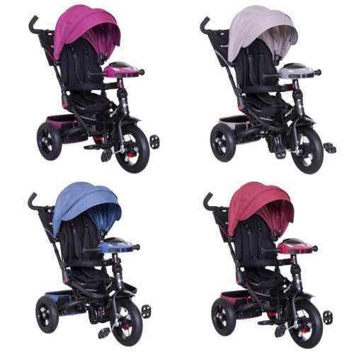 Triciclo niño y niña chester ebaby 6 en 1 desmontable