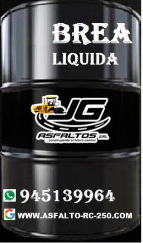 Brea liquida de la mejor calidad y buen precio