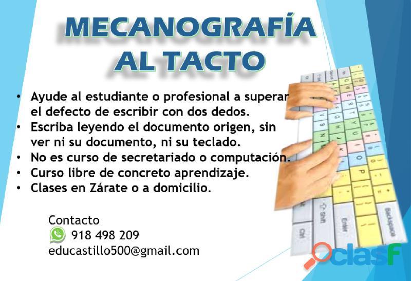 CLASES DE MECANOGRAFIA