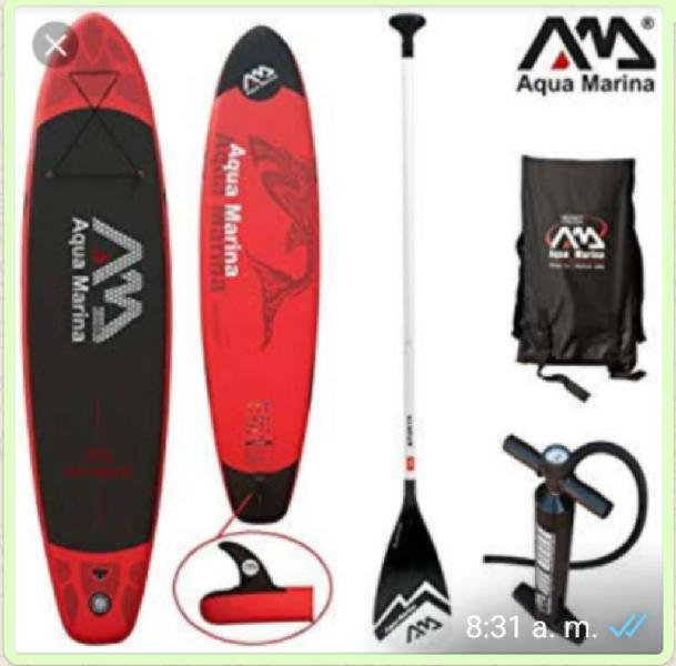 Vendo tabla de paddle surf aqua marina
