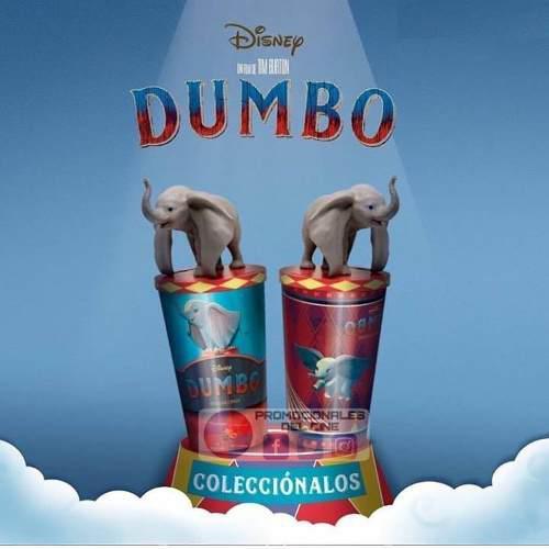 Dumbo vaso 3d con figura original nuevo
