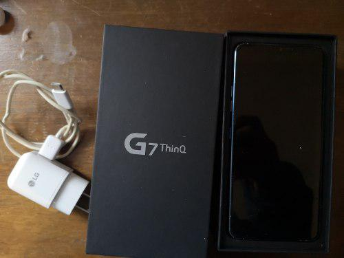 Lg G7 Thinq 64gb Usado Estado 7/10 Precio Negociable En Caja