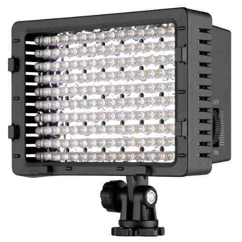 Reflector neewer 160 led para cámaras digitales regulable