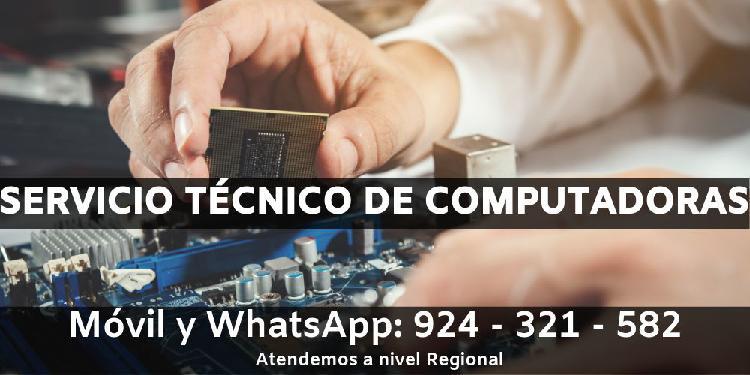 Servicio técnico de computadoras/ servicio técnico pc/