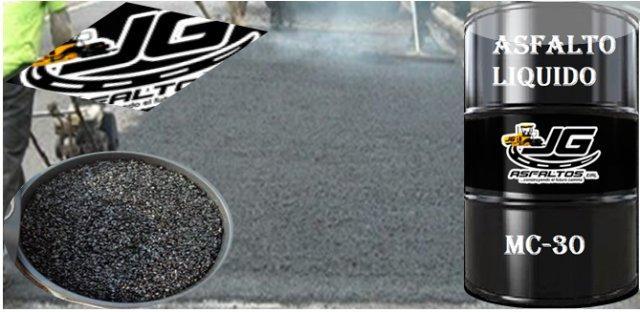 asfalto mc-30 y brea en bloque
