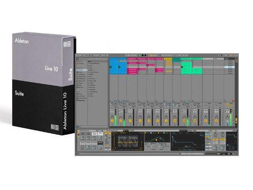 Ableton live 10 suite pc y mac - permanente - audio dj