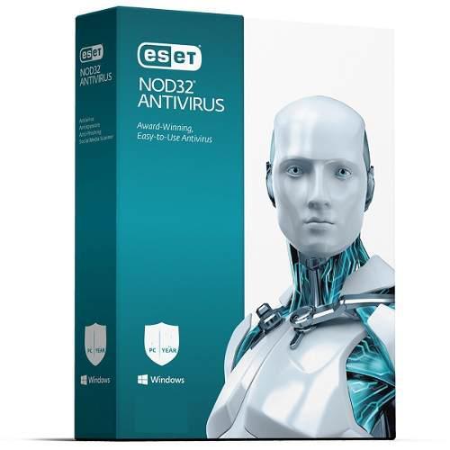 Antivirus eset nod32, 2018, 1 pc, presentación en caja