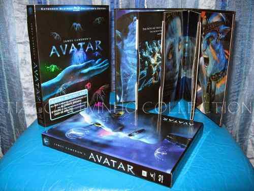 Avatar blu ray oficial collector edition 2019 nuevo sellado