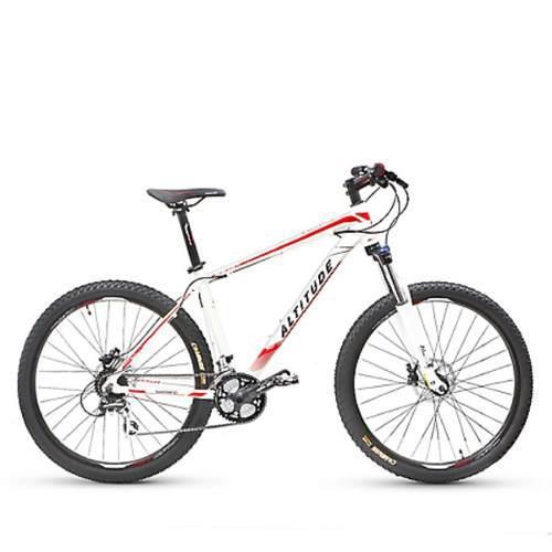 Bicicleta altitude fusión disc blanco
