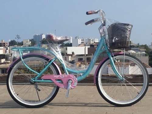 Bicicleta campera, vintage, de paseo aro 24