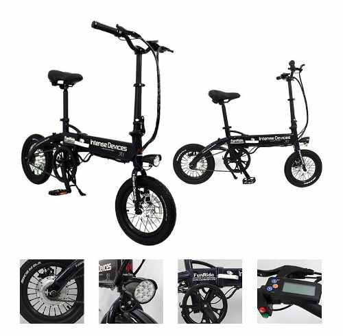 Bicicleta eléctrica intense devices a1-s