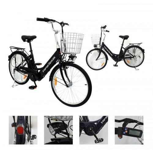 Bicicleta eléctrica intense devices a5 24 aluminio 7veloci