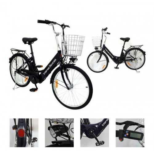 Bicicleta eléctrica intense devices a6ah26, aro 26 itelsist