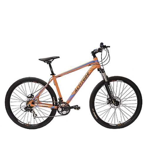 Bicicleta explorer pro disc naranja