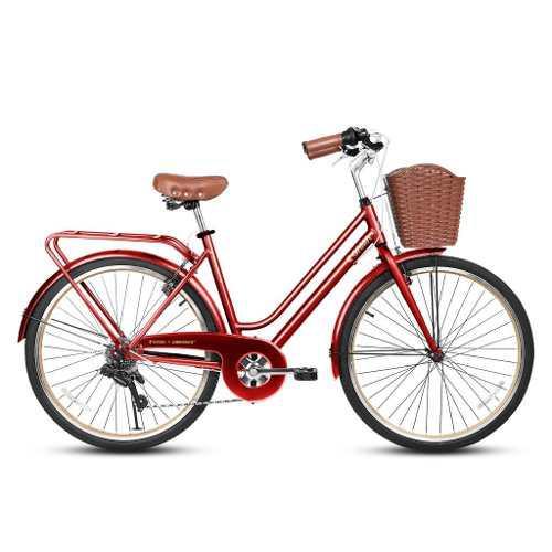 Bicicleta Gama De Mujer City Avenue Alloy Talla M Aro 26 Rou
