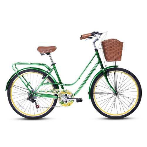 Bicicleta gama de mujer city avenue botanica talla m aro 26