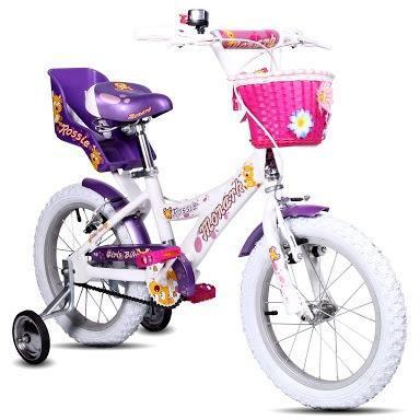 Bicicleta niña - marca monark aro 16
