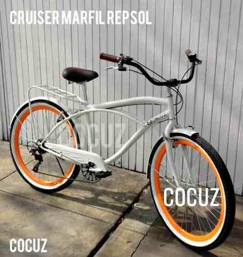 Bicicleta vintage paseo cruiser caballero hombre 6 speed