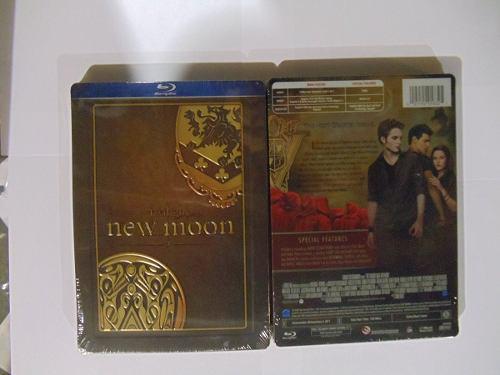 Blu ray la saga crepúsculo: luna nueva (steelbook)