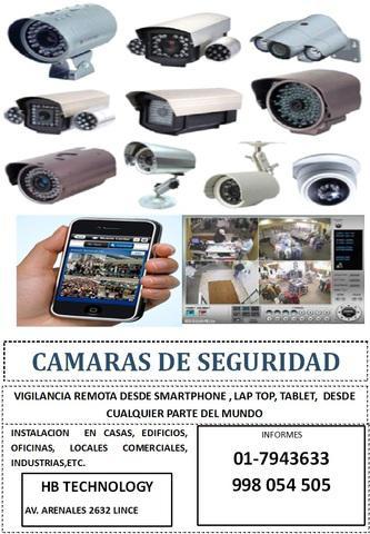 Camaras de vigilancia y sistemas de seguridad
