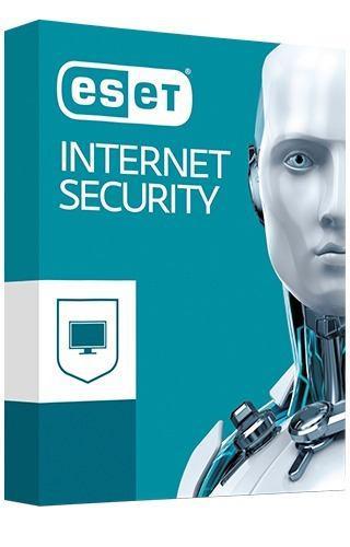 Eset® internet security 2pc - 1 año