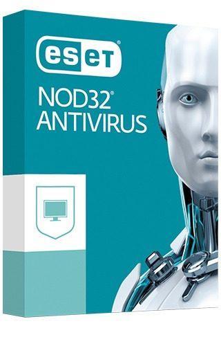 Eset® nod32 antivirus 4pc - 1 año