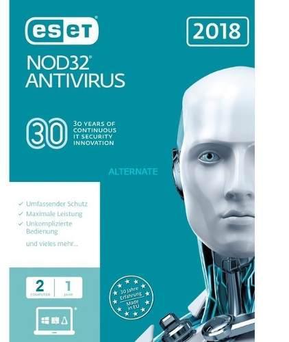 Eset nod32 antivirus, edición 2018, 3 pc, presentación