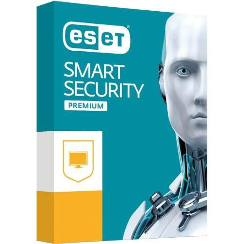Eset® smart security premium 5pc - 2 años