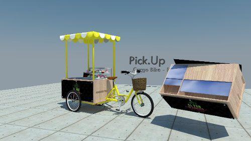 Food bike, triciclo para comercio